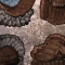 Peggy Cyphers Woodpecker  (Animal Spirits).2009-13 acrylic, sand, leafing on canvas 70x50  $14,000JPG