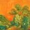 "Peter Solymosi, Lumbini 2069, 2013, Oil on canvas, 20 x 24"""