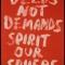 Deeds Not Demands Spirit Our Sphere, Dead Indian Stories (Red) (2)